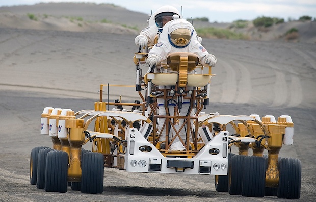 Bill Savage's company helped build the Lunar and Mars rover