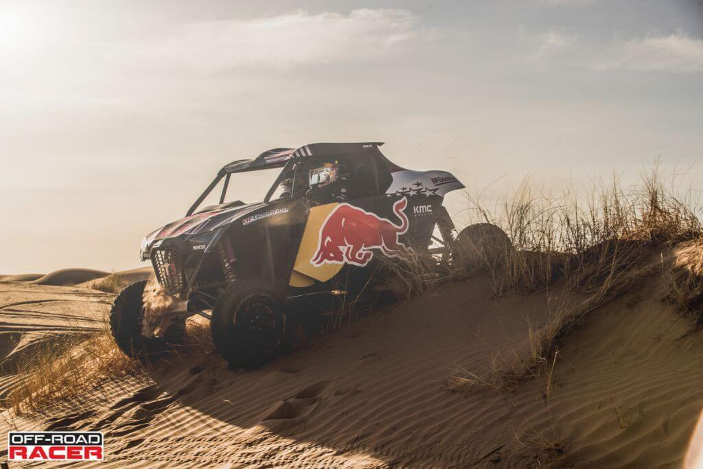 Cyril Despres performs with the OT3 by Overdive in Erfoud, Morocco on October 4, 2019 // Flavien Duhamel/Red Bull Content Pool // AP-22EBTF2TN2111 // Usage for editorial use only //