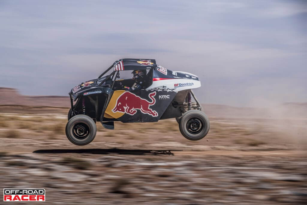 Cyril Despres performs with the OT3 by Overdive in Erfoud, Morocco on October 4, 2019 // Flavien Duhamel/Red Bull Content Pool // AP-22EBTF4R52111 // Usage for editorial use only //