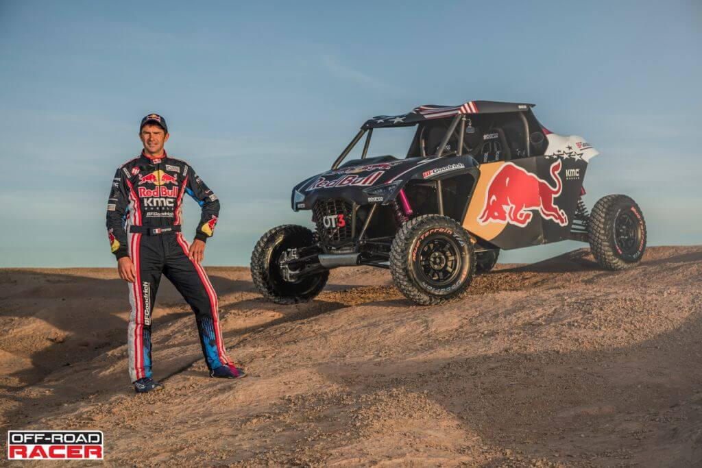 Cyril Despres and the OT3 by Overdive in Erfoud, Morocco on October 4, 2019 // Flavien Duhamel/Red Bull Content Pool // AP-22EBTF51S1W11 // Usage for editorial use only //