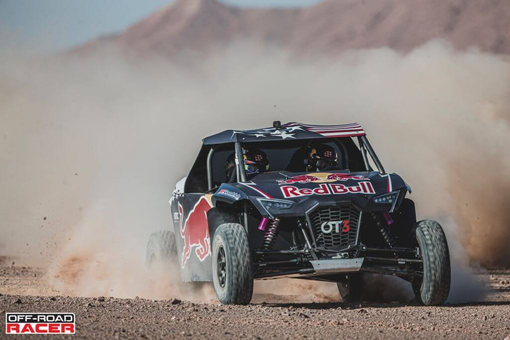 Nasser Al-Attiyah and Matthieu Baumel perform with the OT3 by Overdive in Erfoud , Morocco on October 2, 2019 // Flavien Duhamel/Red Bull Content Pool // AP-22EBTEUUD2111 // Usage for editorial use only //