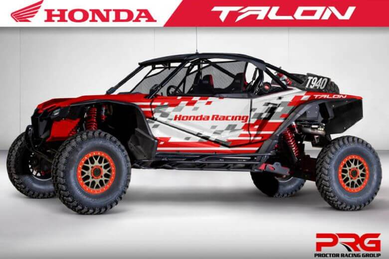 Team Honda Talon Factory Racing Announces Drivers For 2020