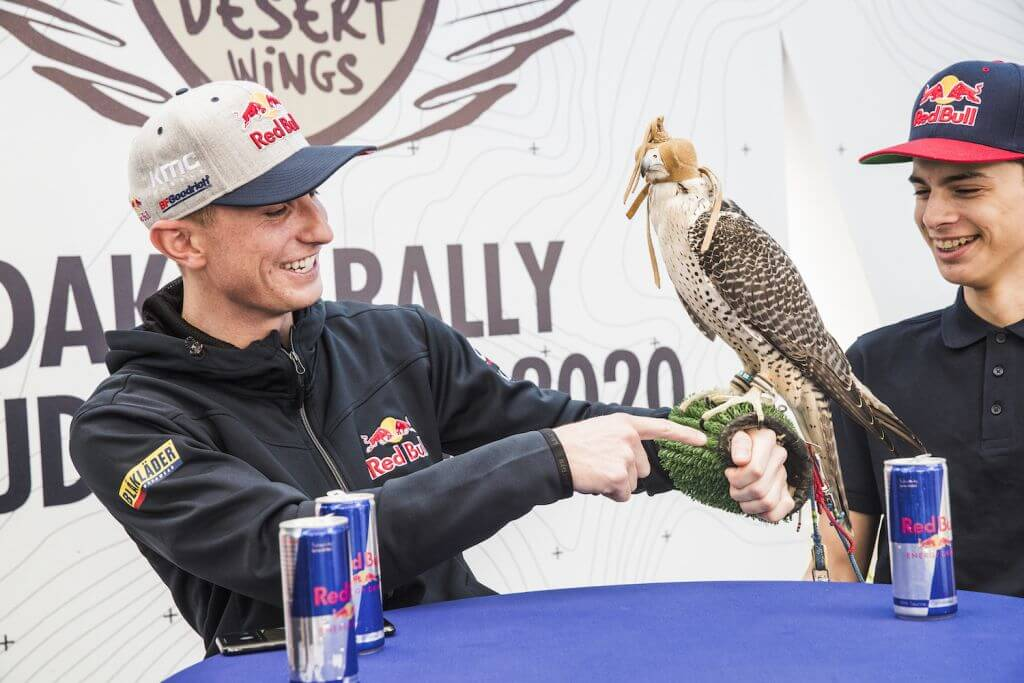 Mitchell Guthrie (USA) of SSV Red-Bull Off-Road Team USA seen  at the Red Bull Energy Station of Rally Dakar 2020 Djeddah, Saudi Arabia on January 04, 2020.