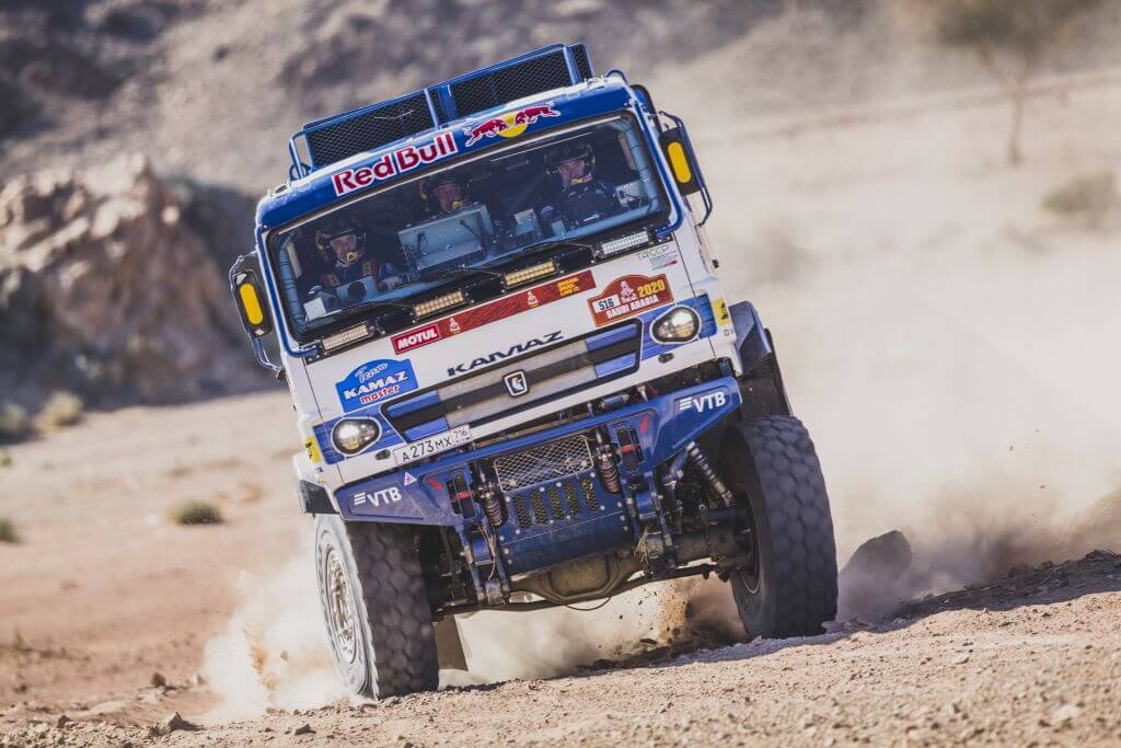 Anton Shibalov (RUS), of KAMAZ – Master races during stage 2 of Rally Dakar 2020 from Al Wajh to Neom, Saudi Arabia on January 06, 2020.