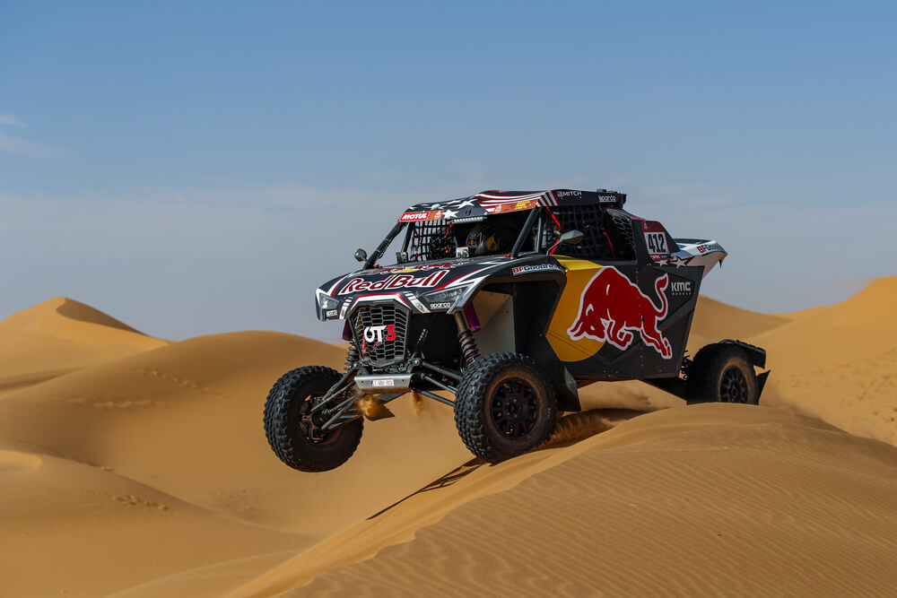 412 Guthrie Mitchell (usa), Floene Ola (nzl), OT3, Red Bull Offraod Team USA, SSV, action during Stage 7 of the Dakar 2020 between Riyadh and Wadi Al-Dawasir, 741 km - SS 546 km, in Saudi Arabia, on January 12, 2020 - Photo Florent Gooden / DPPI