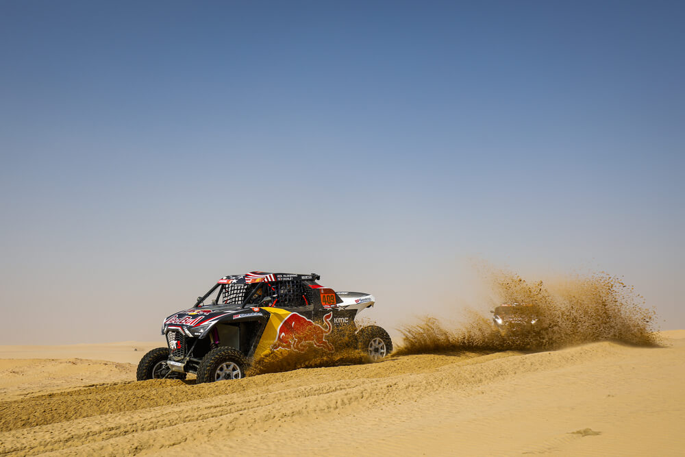 409 Hildebrand Blade (usa), Cazalet Francois (fra), OT3, Red Bull Offroad Team USA, SSV, action during Stage 10 of the Dakar 2020 between Haradh and Shubaytah, 608 km - SS 534 km, in Saudi Arabia, on January 15, 2020 - Photo Frederic Le Floc'h / DPPI