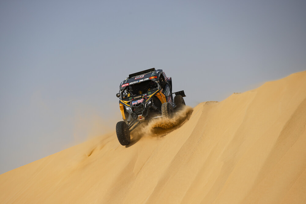 405 Currie Casey (usa), Berriman Sean (usa), Can - Am, Monster Energy Can-Am, SSV, Motul, action during Stage 10 of the Dakar 2020 between Haradh and Shubaytah, 608 km - SS 534 km, in Saudi Arabia, on January 15, 2020 - Photo Florent Gooden / DPPI