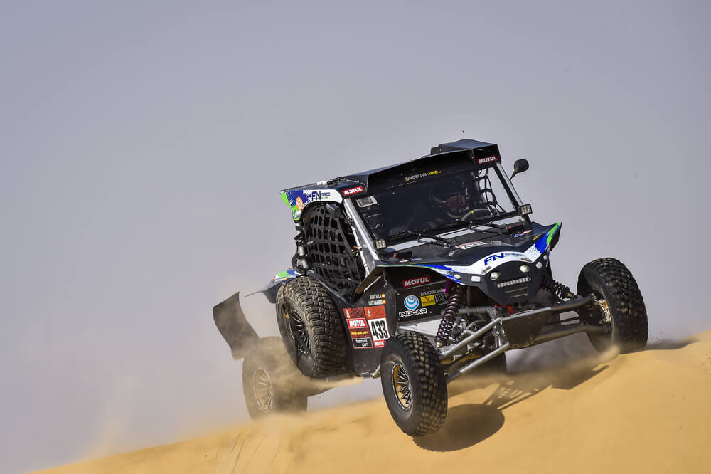 433 Navarro Santiago (esp), Sola Terradellas Marc (esp), Can-Am, FN Speed Team, SSV, action during Stage 10 of the Dakar 2020 between Haradh and Shubaytah, 608 km - SS 534 km, in Saudi Arabia, on January 15, 2020 - Photo DPPI