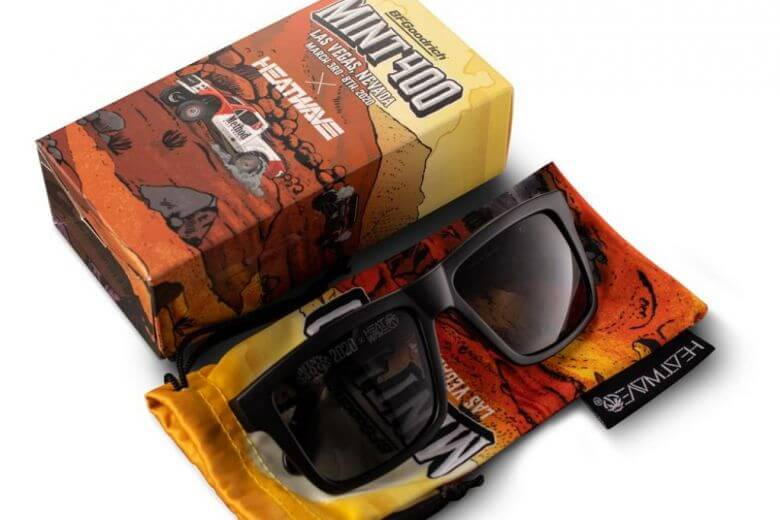 2020 Mint 400 Heat Wave Visual Sunglasses