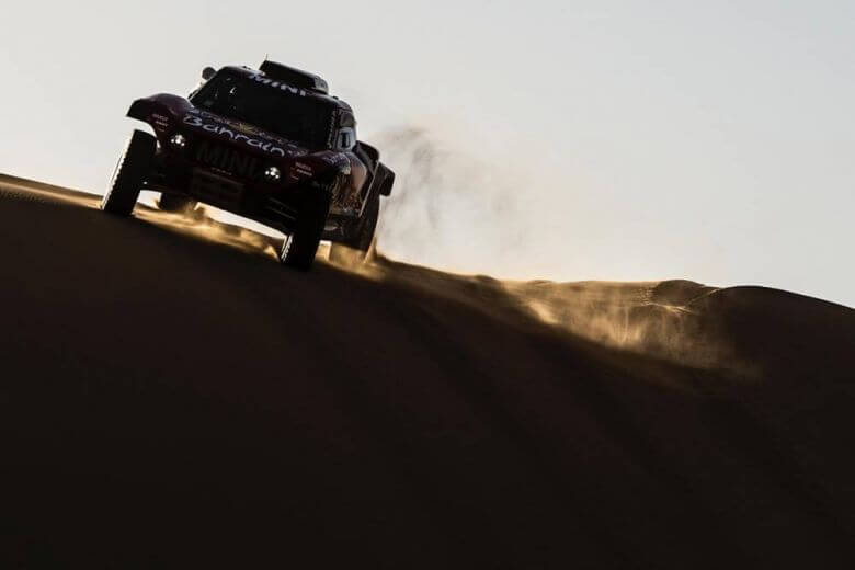 mini cooper dakar rally