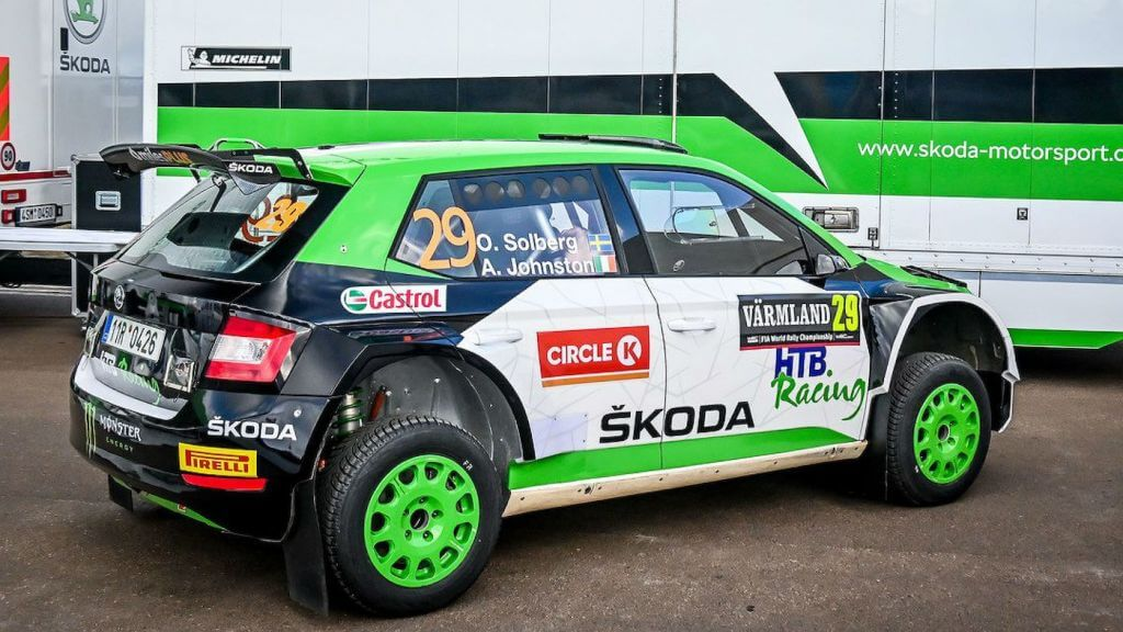 Oliver Solberg makes his WRC 3 debut