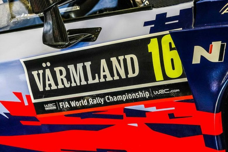 2020 Rally Sweden WRC World champion