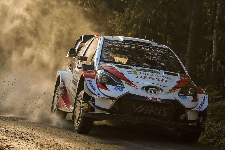 2020 Rally Sweden Winner Elfyn Evans