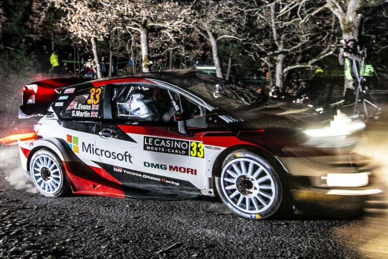 Elfyn Evans 2020 Rallye Monte Carlo