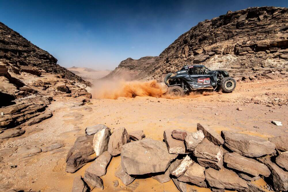 Austin Jones to race at the 2020 Manateq Qatar Cross Country Rally