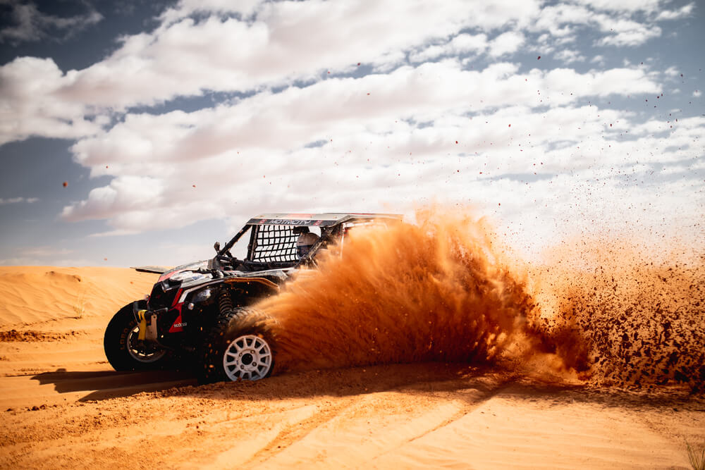 During the marathon stage of the Afriquia Merzouga Rally 2019. photo: Victor Eleuterio / ASO