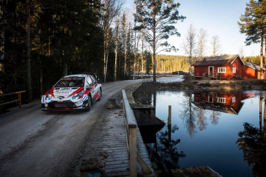 WRC Rally Sweden Elfyn Evans