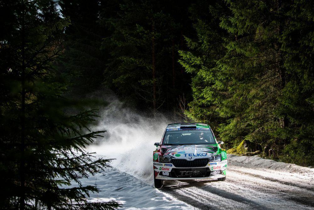 WRC Rally Sweden Emil Lindholm
