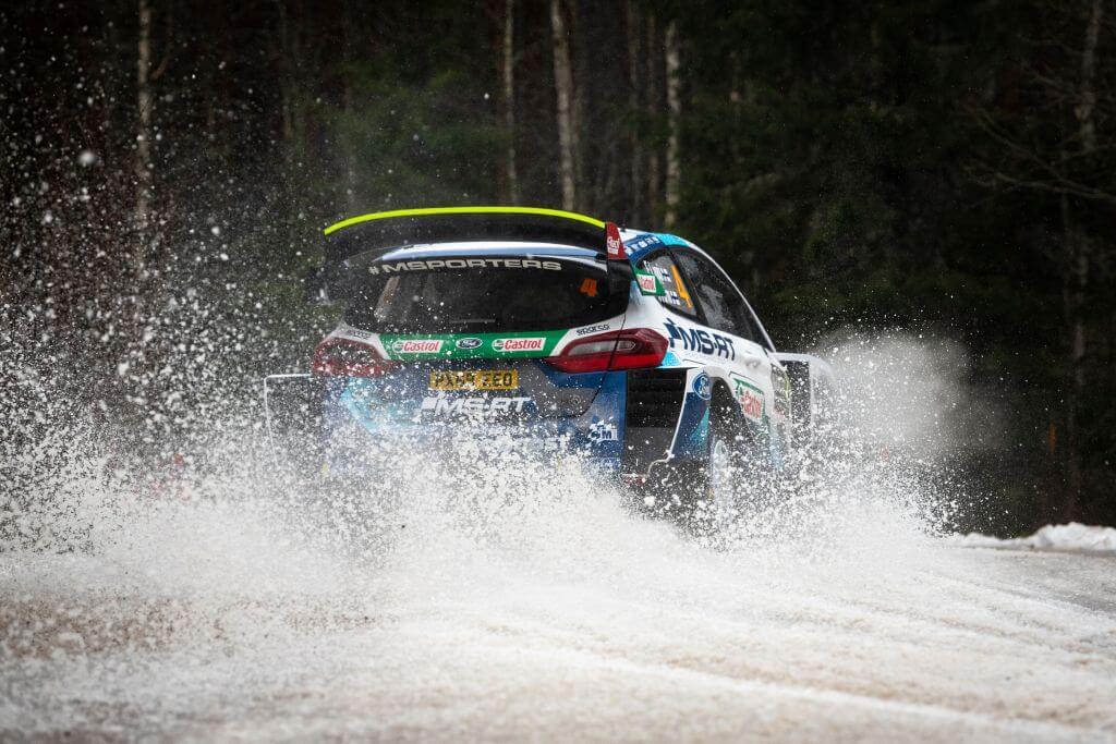 WRC Rally Sweden Esapekka Lappi