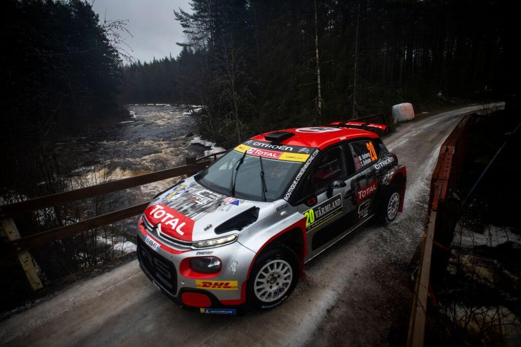 WRC Rally Sweden Mads Ostberg