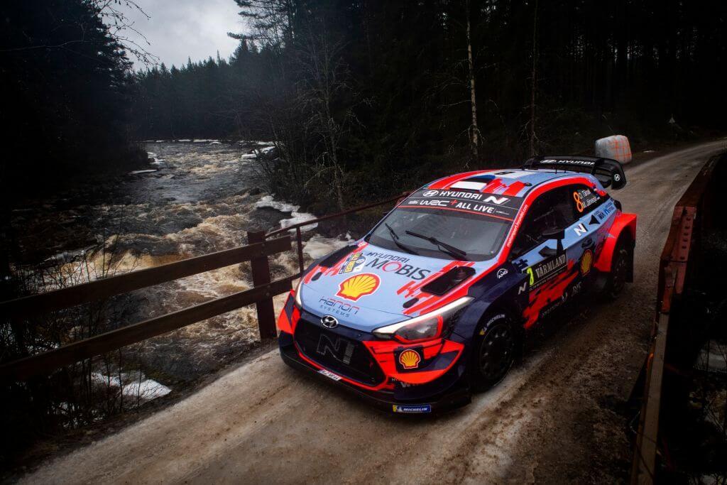 WRC Rally Sweden Ott Tanak