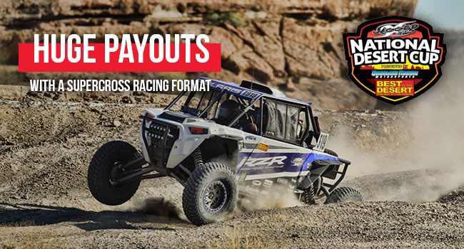 Jagged X National Desert Cup Presented by Quantum Motorsports