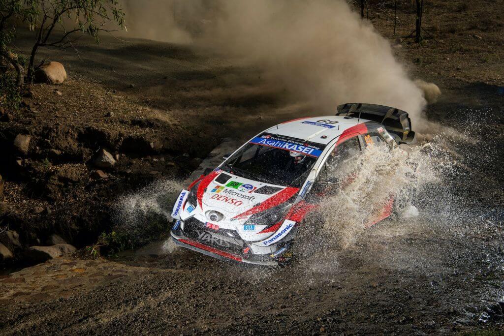 Kalle Rovanpera WRC Rally Mexico