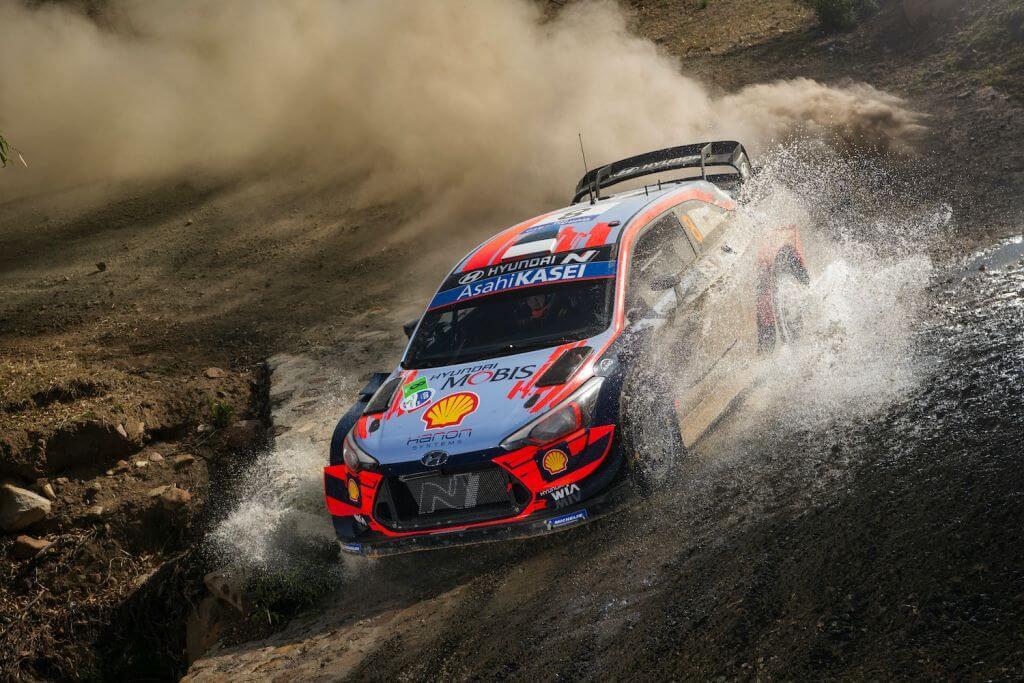 Ott Tanak WRC Rally Mexico