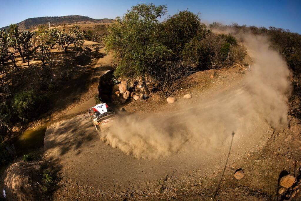 Sebastien Ogier WRC Rally Mexico