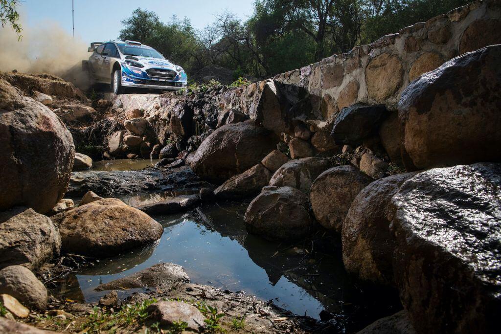 Teemu Sunien WRC Rally Mexico
