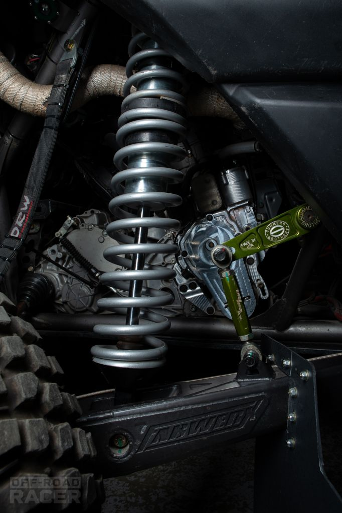 HN Motorsports UTV rear arms