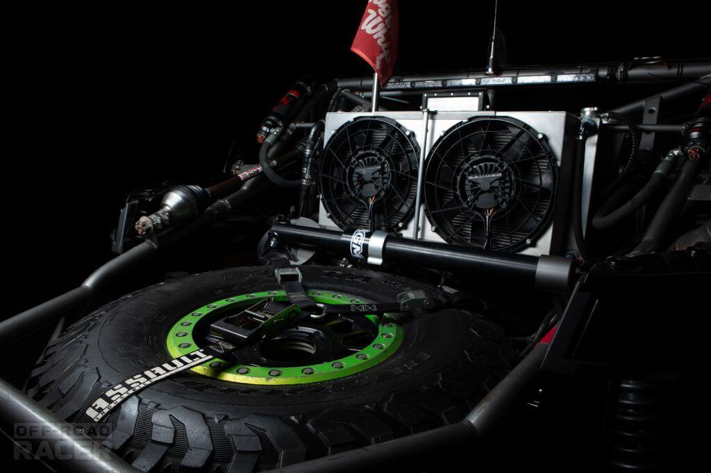 HN Motorsports UTV rear spare