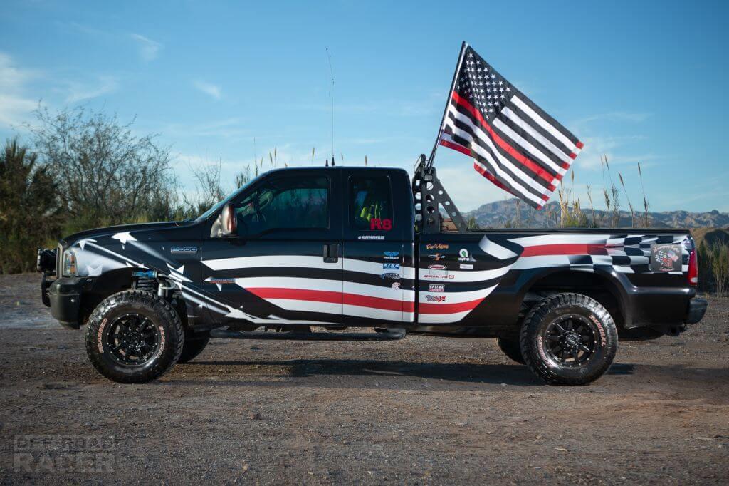Motorsports racing solutions truck