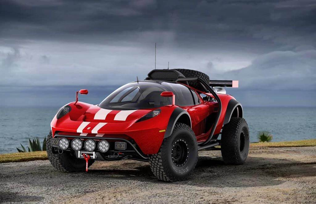 Glickenhaus rally off road racer