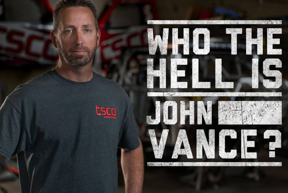 john vance off road racer header