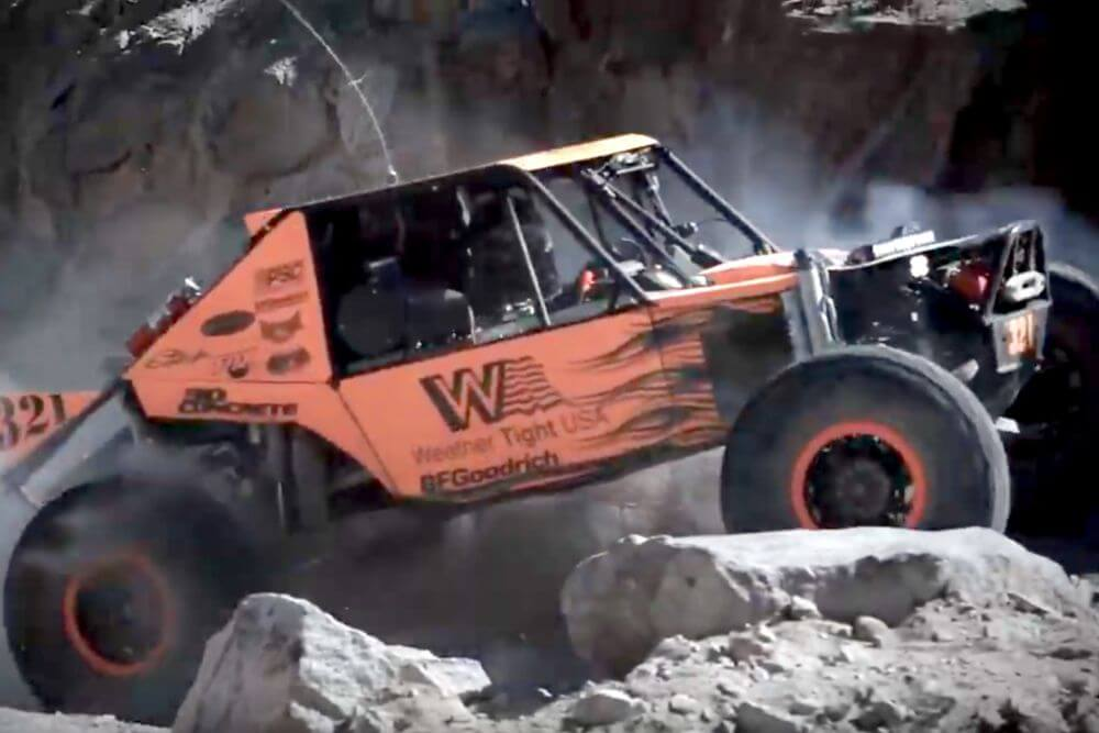 king of the hammers off road racer