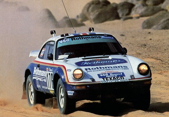 porsche off road rally