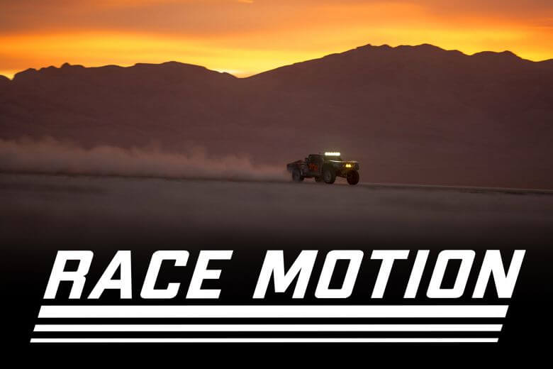 race motion the Mint BFGoodrich Tires off road racer