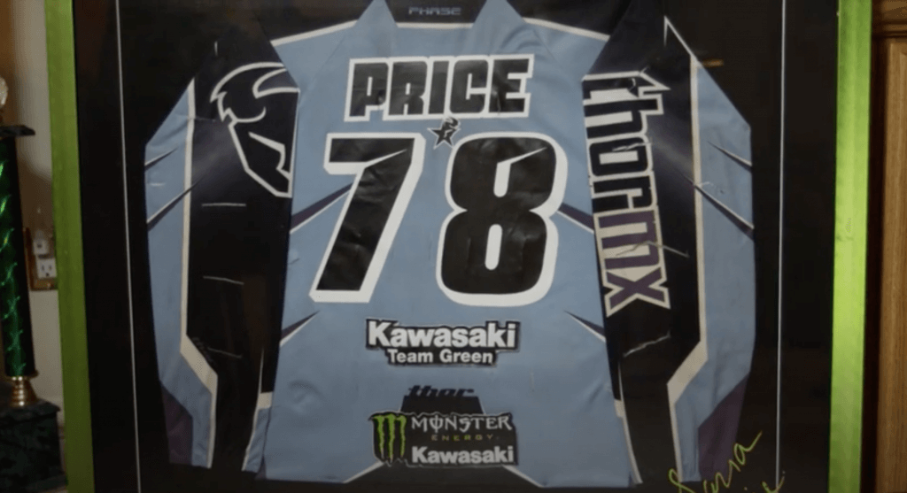sara price jersey racing