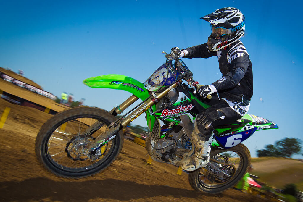 sara price kawasaki motox mx