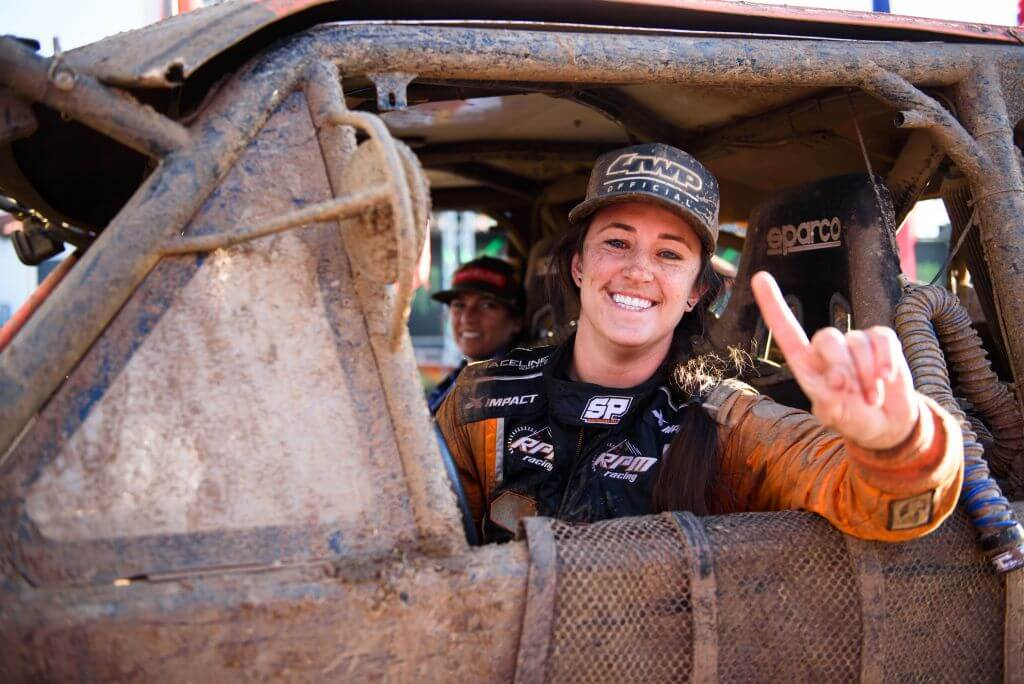 sara price off road racing wp