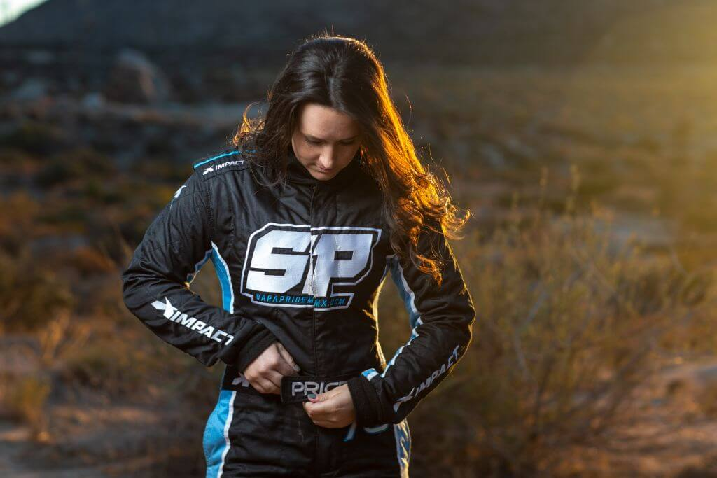 sara price off road racing utv