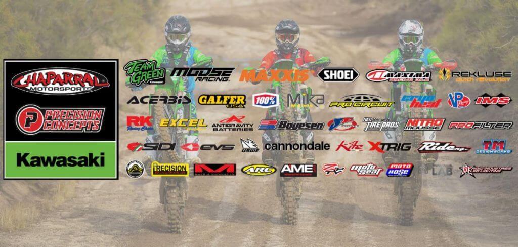 PCKX Sponsors off road racer