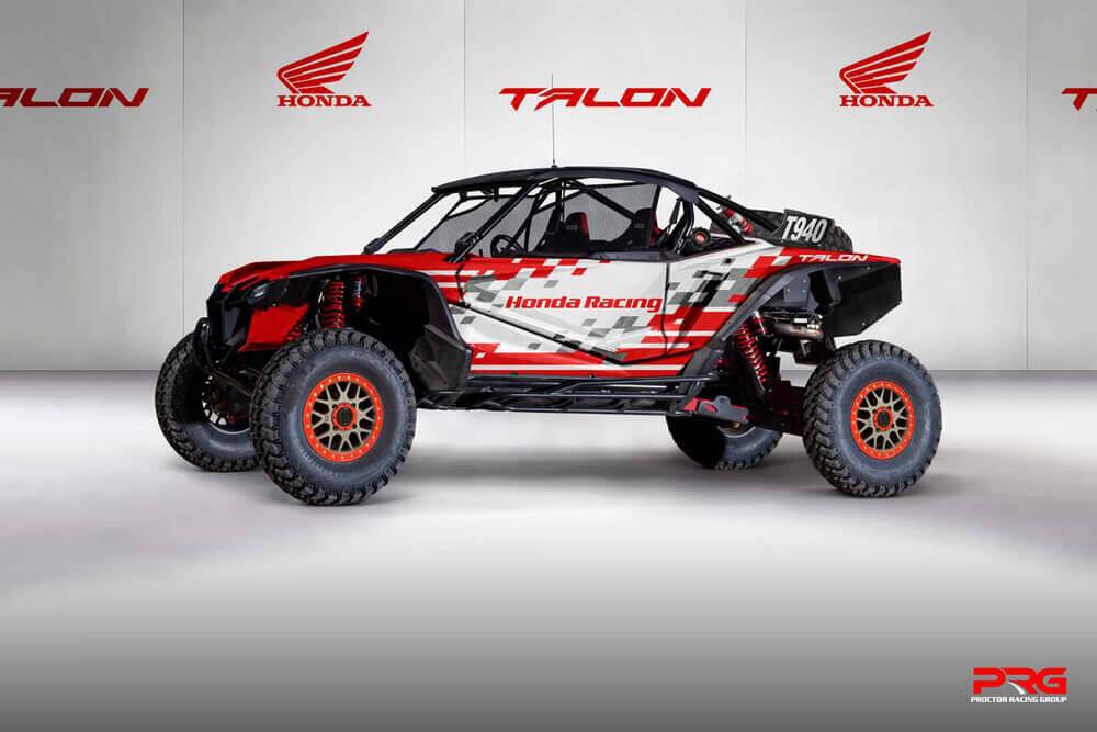Team Honda Talon Racing x
