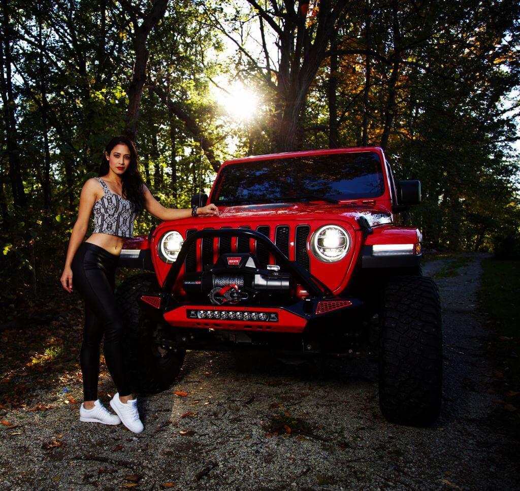Tiffany Stone jeep off road racer