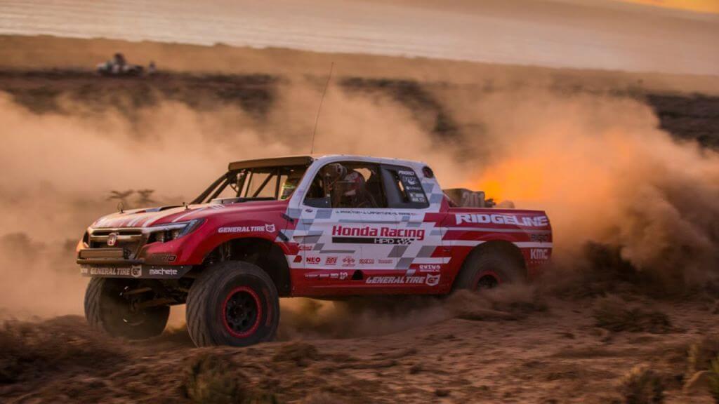 baja race proves the new honda ridgeline is an LEGENDARY LIST