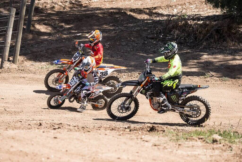 degan family motocross off road racer