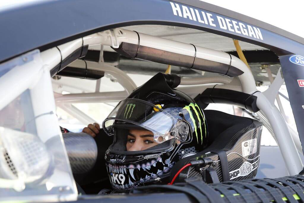 hailie deegan monster engergy racer off road racer