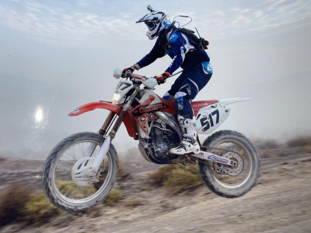 jeff proctor motox off road racer
