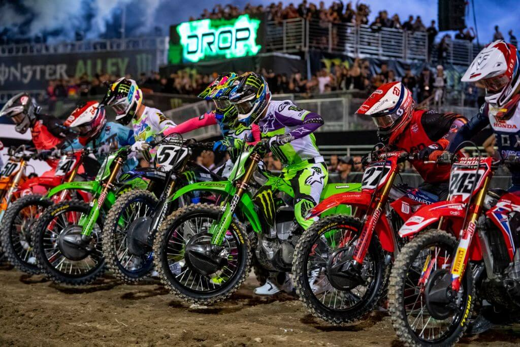 monster energy supercross off road racer